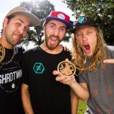 Chris Abadie and Andrew Adams Double Xgames Gold Medals