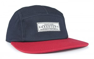 Shredtown Navy/Red Hat