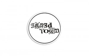 Shredtown Circle Sticker