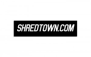 Shredtown Sticker